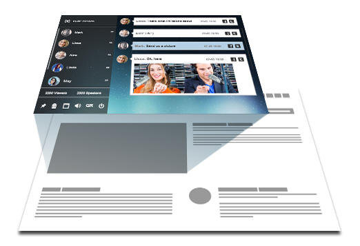 ... Embed A Stylish Chat Room Theme Into Your Site Or Blog With A Single  Line Of ... Part 74