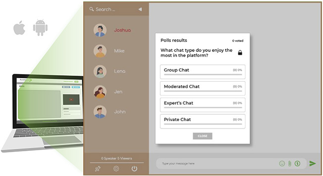 real-time Chat Polls