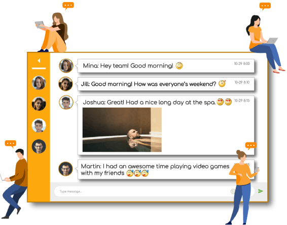 Engage your audience with Social Group Chat of RumbleTalk